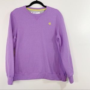 Champion Eco Purple Sweatshirt